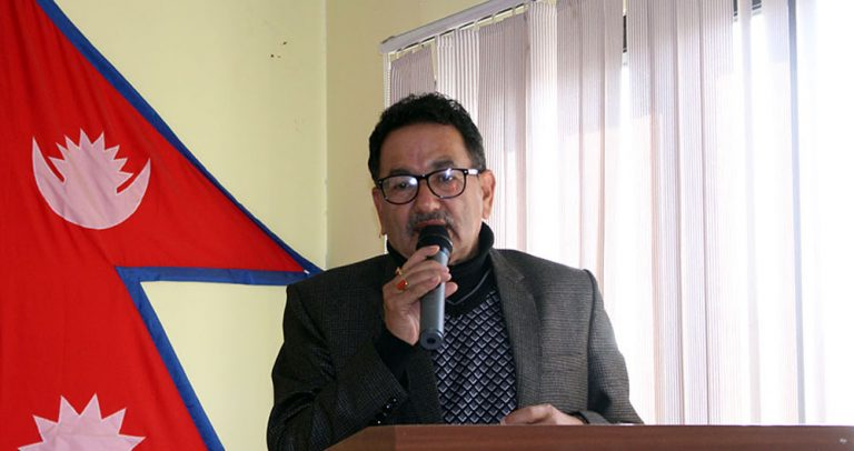 Mayor_Krishnahari_Thapa
